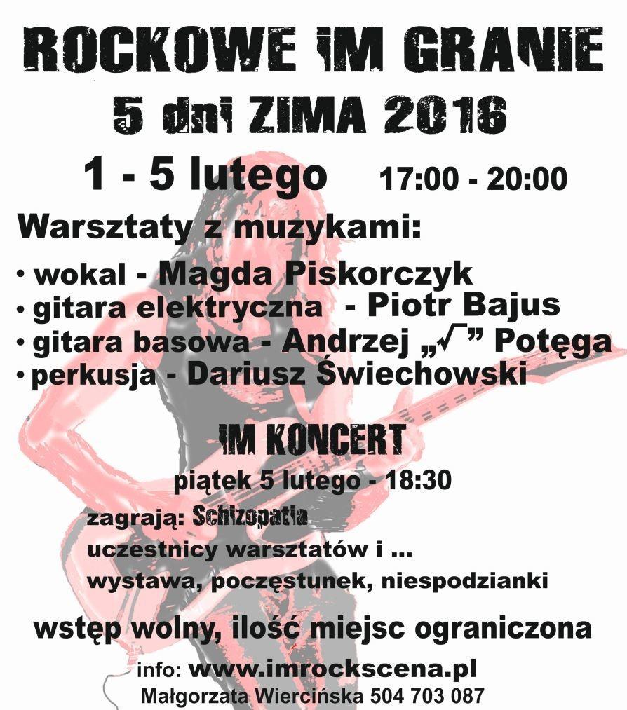 Warsztaty ZIMA 2016