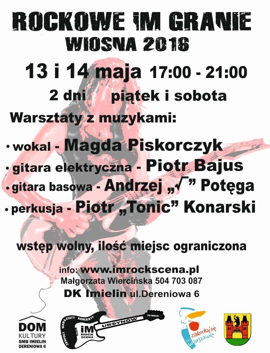 Warsztaty WIOSNA2 2016